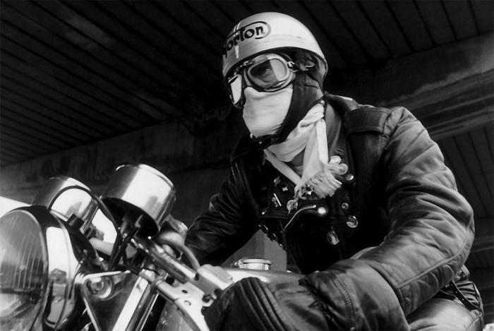 Cafe Racer Open Face Helmet