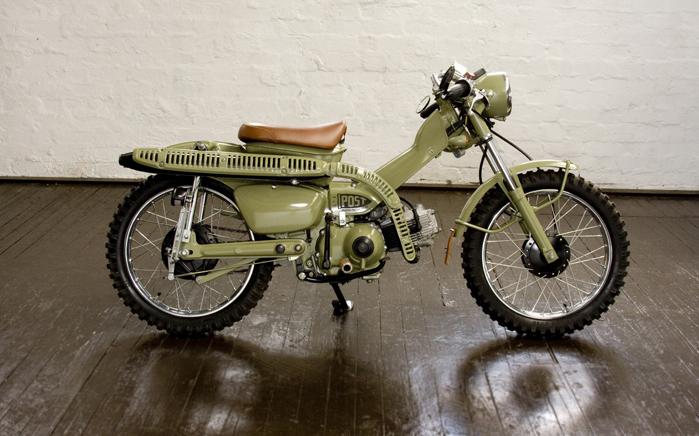 Honda Trail 110 >> Honda CT110 Customs - Pipeburn.com
