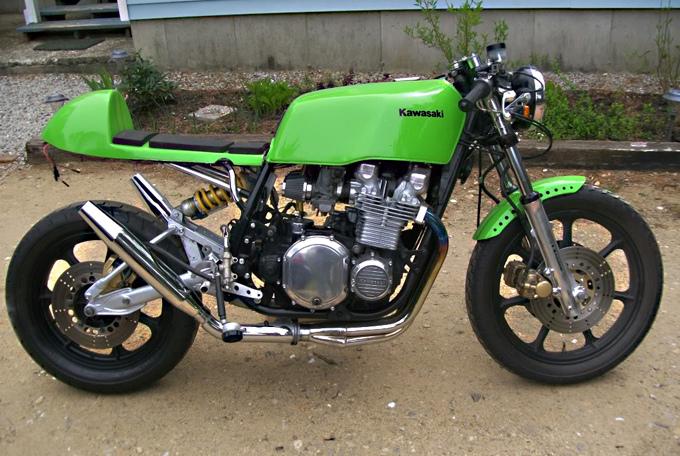 Kawasaki KZ1000 Café Racer