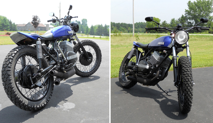 This Rd250 Street Tracker