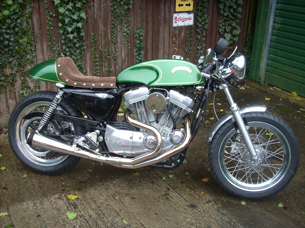 Cafe Racer Tank For Harley Sportster