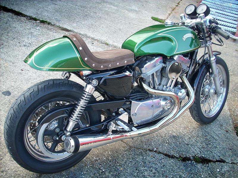 Extrêmement Harley Sportster Café Racer - Pipeburn.com OV28