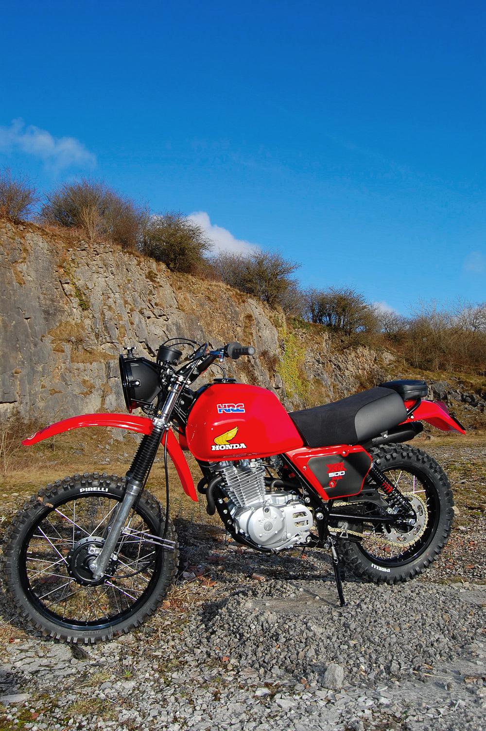 Honda XR500 Desert Racer - Pipeburn.com