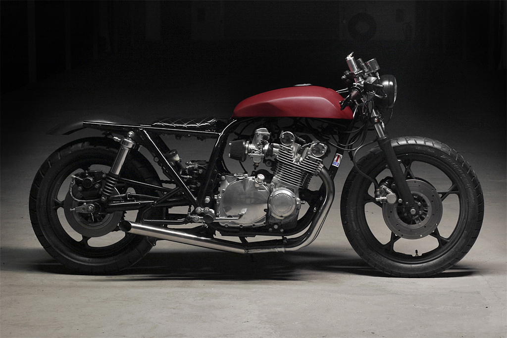 Gs Profile on 1980 Suzuki Gs550 Cafe Racer