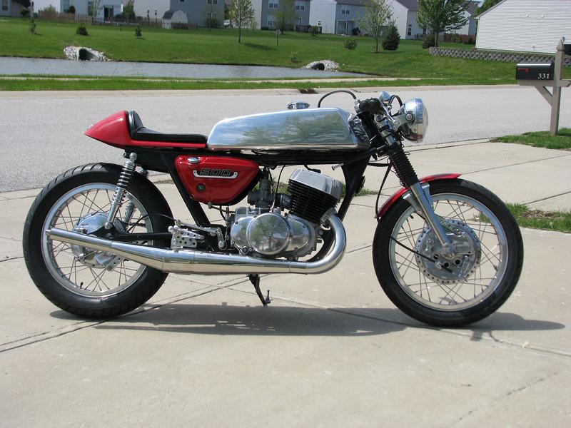 1975 suzuki t500 - pipeburn