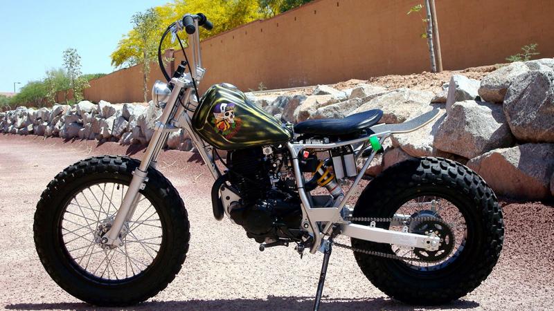2009 Yamaha Tw200 Machine 13 Pipeburn Com