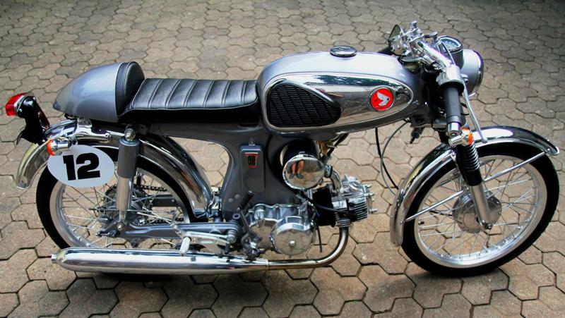 1969 honda s90 caf racer   pipeburn