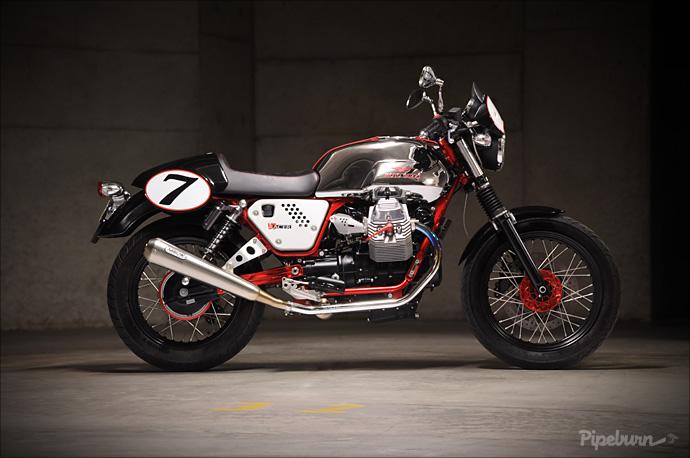 review 2011 moto guzzi v7 racer. Black Bedroom Furniture Sets. Home Design Ideas
