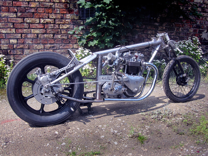 1968 Triumph Drag Bike