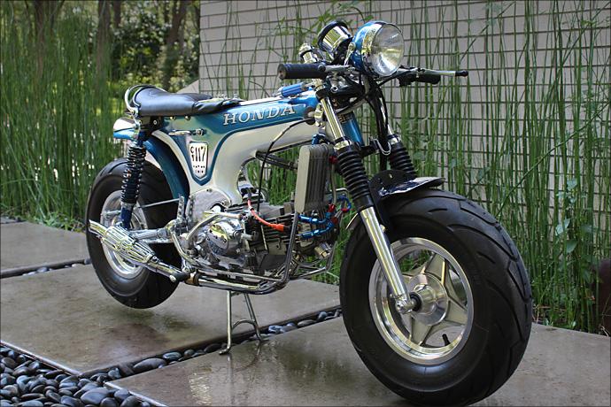 Honda Grom Build >> 1977 Honda CT70 Dax - Pipeburn.com