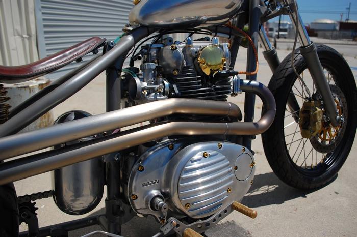 1979 Yamaha XS650 Bobber - Pipeburn com