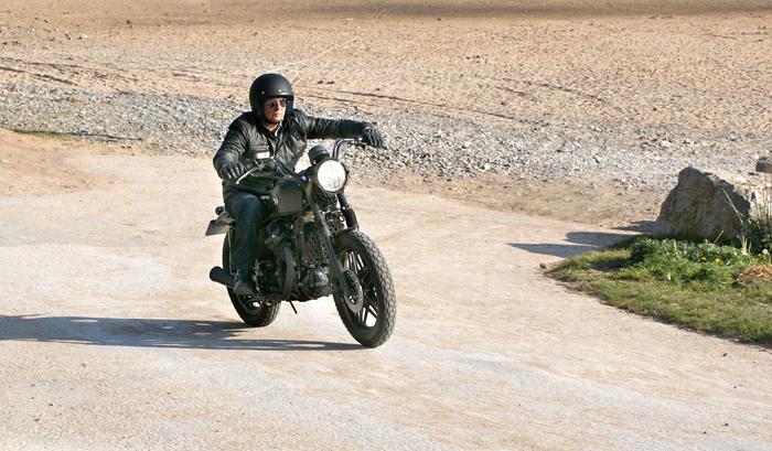 "Harley Street 500 >> Honda CX500 Street Tracker - ""Superfly"" - Pipeburn.com"