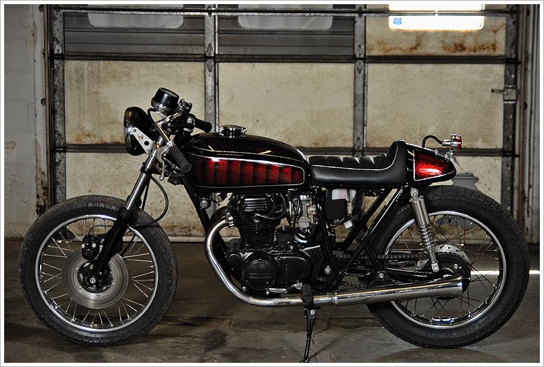 1974 Honda CB360 Relic Kustoms