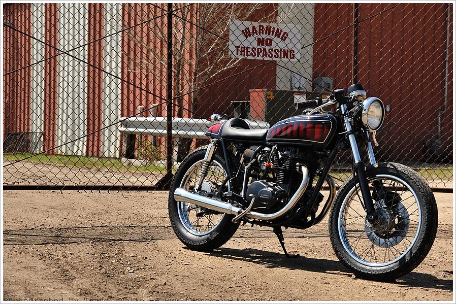 1974 Honda Cb360 Relic Kustoms Pipeburn