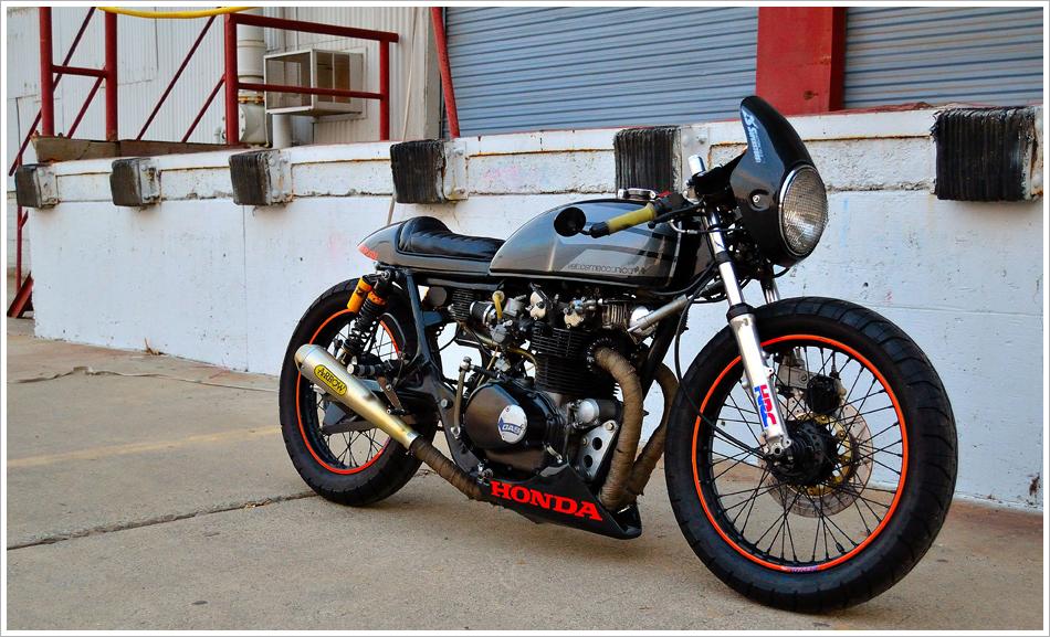 1975 Honda CB500 Cafe Racer
