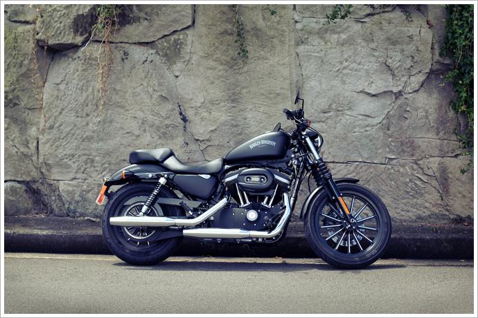 HArley_883_hero 2012 harley davidson 883 iron review pipeburn com Harley-Davidson Iron 883 Green at mifinder.co
