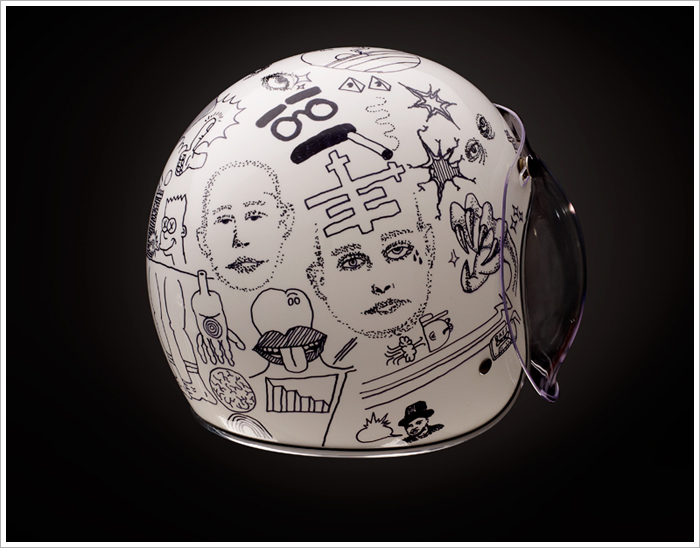 Thor Drake From See Motorcycles Has Organised A Helmet Art Show Which Is Part Of The Upcoming One Motorcycle In Portland