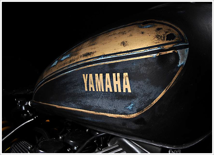 One Speed's Yamaha XS1100 - 'Shokker' - Pipeburn com