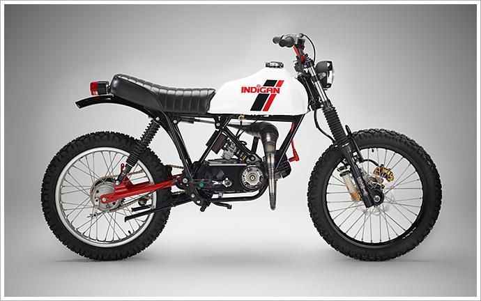 Indigan's 'Diablo' Moped