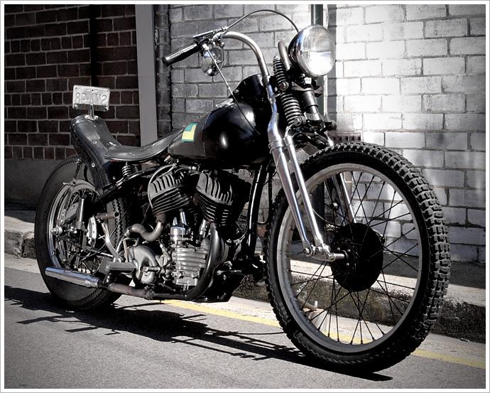 Wla Harley Bobber Pipeburn Com
