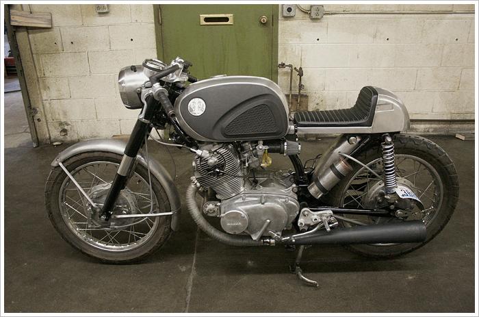 1966 honda cb77 - super hawk 'café' - pipeburn