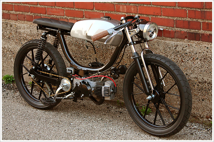 Puch M  Cafe Racer