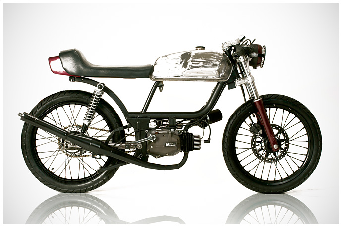 """Rogue Creation's """"Blood Lust"""" Moped"""