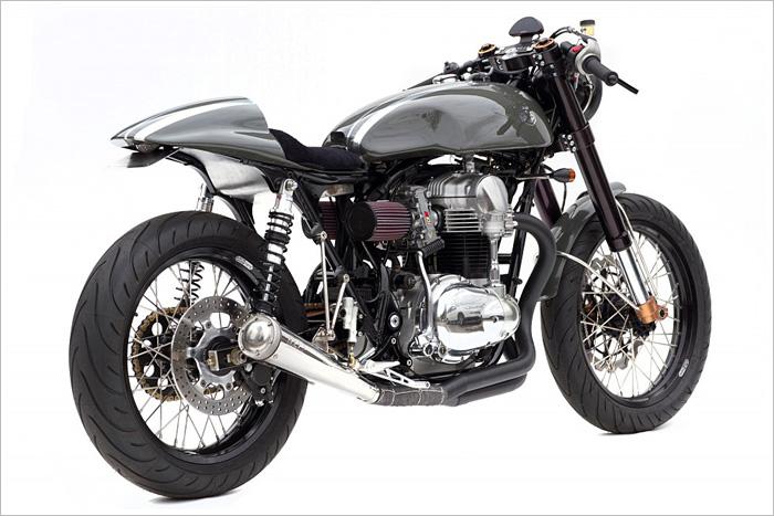 Kawasaki W650 Deus Moto Grigio Pipeburn Com