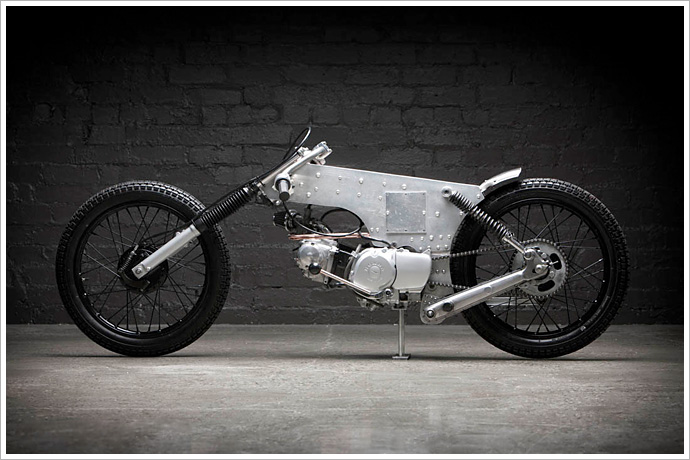 "Andy Copeland\'s Honda CT110 - ""Express Post"" - Pipeburn.com"