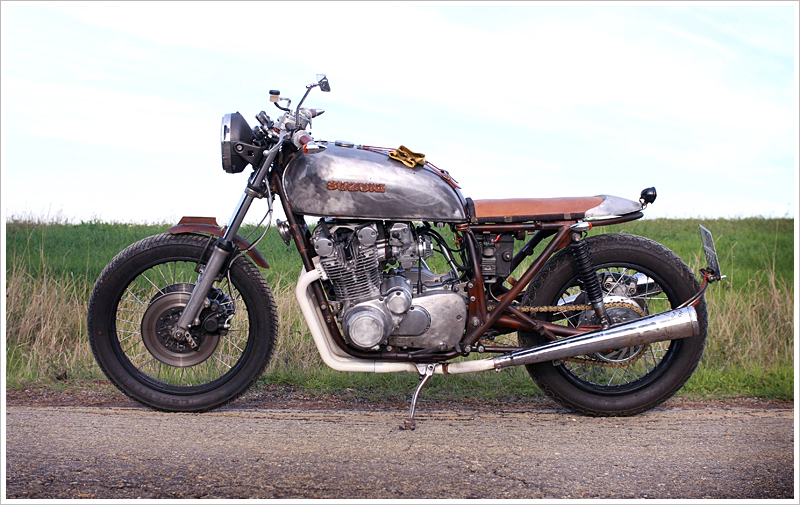 1978 suzuki gs550 cafe racer parts | sugakiya motor