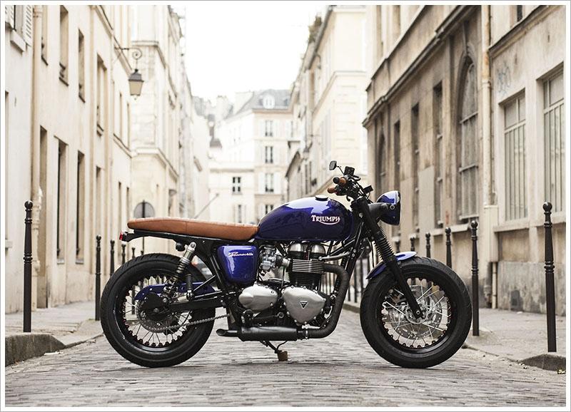 2012 Triumph Bonneville by Vintage Racer - Pipeburn.com