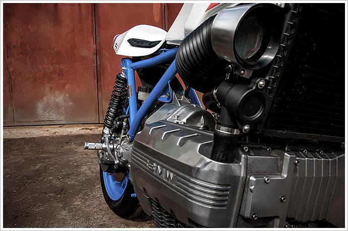 1984 BMW K100 - BSK SpeedWorks - Pipeburn com