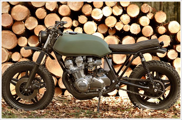 1982 Honda CB750 Left Hand Cycles