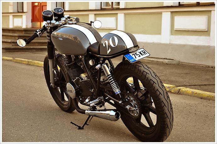 yamaha xs400 - volure cycles - pipeburn