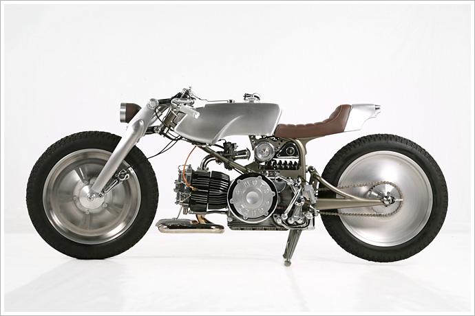 moto guzzi nuovo falcone - medaza cycles - pipeburn