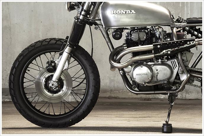Honda Cb360 – 'doris' Pipeburn