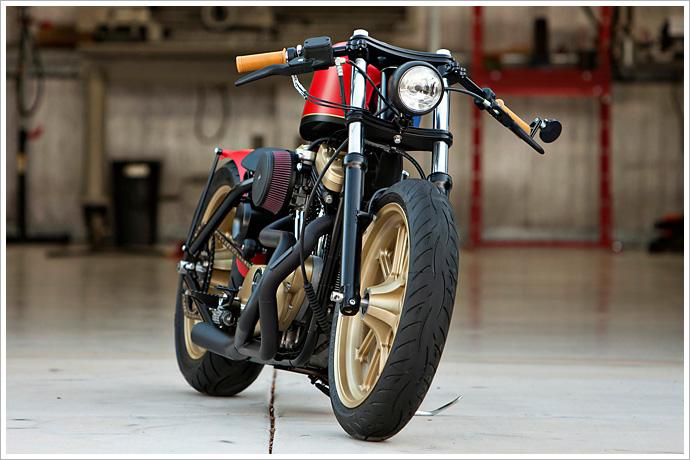 Harley Davidson Sportster Clip On Handlebars