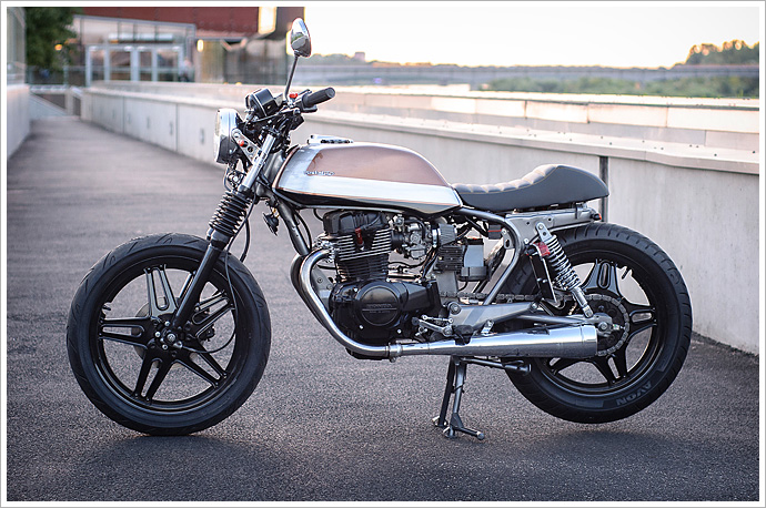 If You Need Any More Proof That The Custom Bike Scene Has Been Turned On Its Head In Last 10 Years Look No Further Than This Beautiful Honda CB400