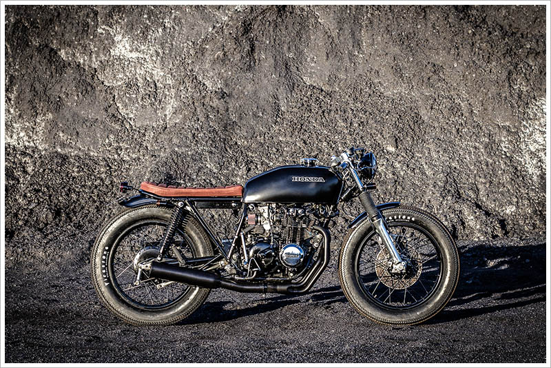 1978 Honda CB400F By Salty Speed Co