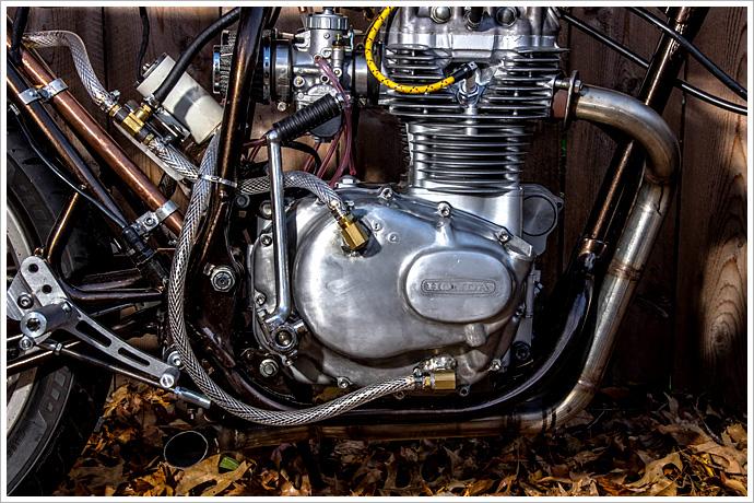Honda Cb360 Rust Revival Retro Moto Pipeburn