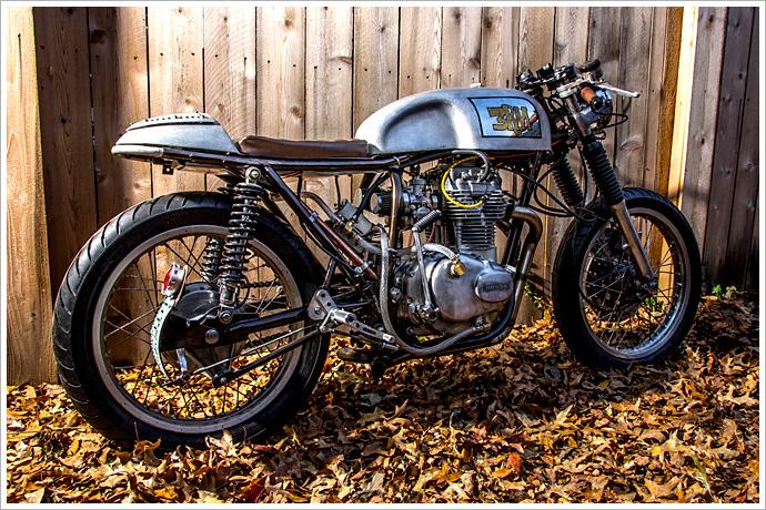 Honda CB360 Rust Revival Retro Moto