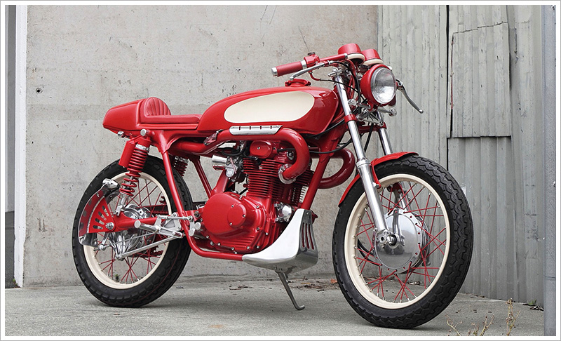 1974 Honda CB350 – 'The Red Rocker'