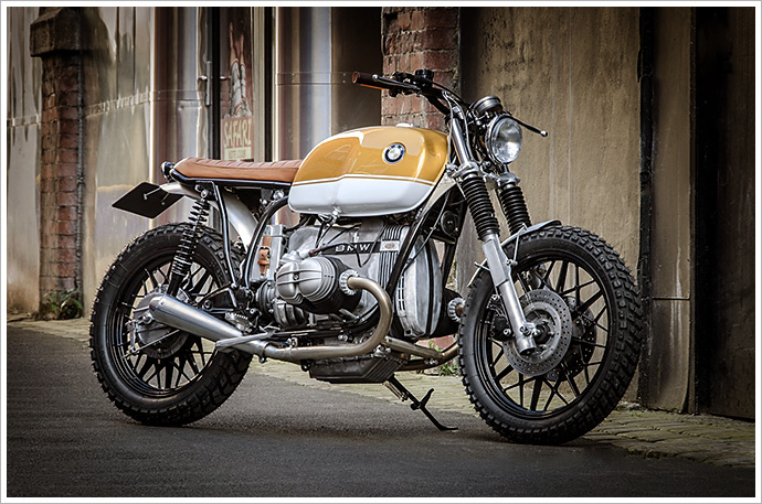 '83 BMW R80 - Down & Out Café Racers