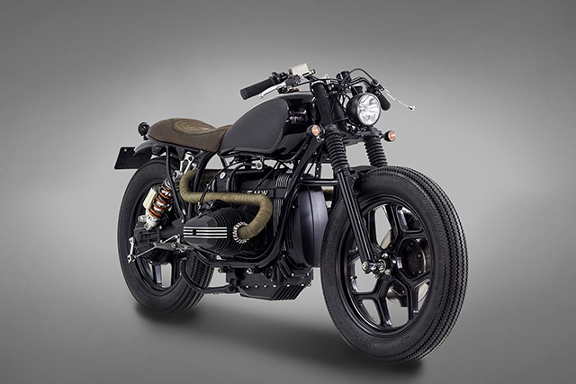BMW R80 INDIRA front pres view