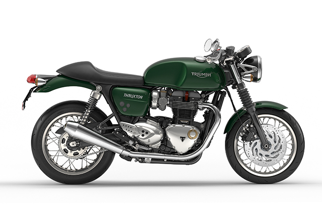 Thruxton Competition Green Right