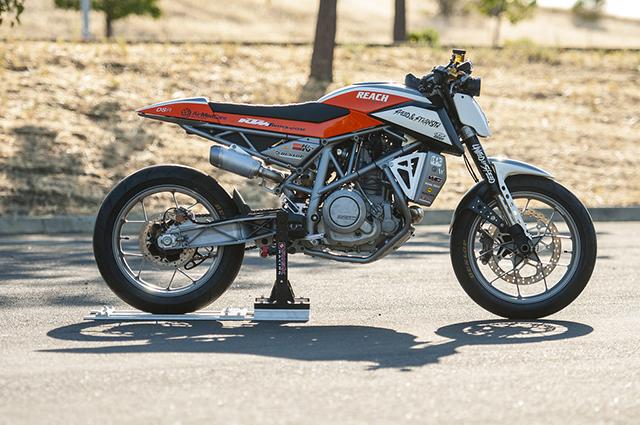 2013 KTM 690 Duke by DSR