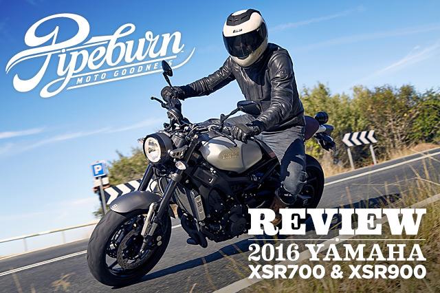 Review: 2016 Yamaha XSR700 & XSR900