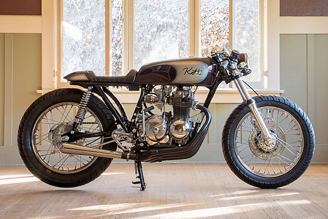 '75 Honda CB400F – Kott Motorcycles