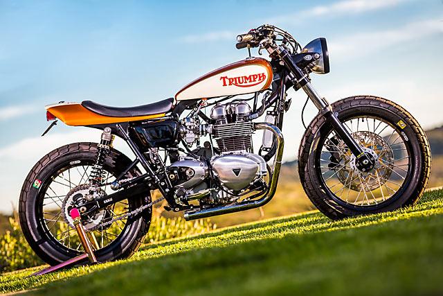 '07 Triumph Thruxton Tracker – Mule Motorcycles