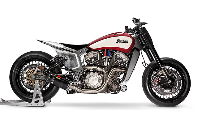 PLAYING CHICKEN. A Nitrous Indian Scout Sprinter by Young Guns